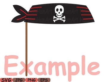 Pirate Photo Booth Props Pirates clip art maps Party Birthday masks love -185s