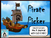 Pirate Picker Random Student Name Selector Promethean Flipchart Lesson