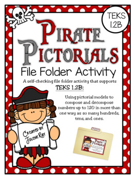 Pirate Pictorials: A File Folder Activity for TEKS 1.2B