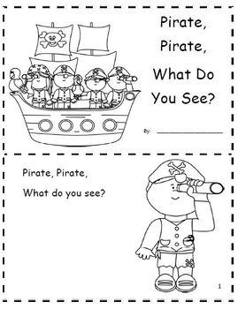 Pirate, Pirate Emergent Reader