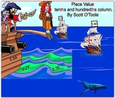 Pirate Place Value Decimals (Tenths, hundredths)Math Smart