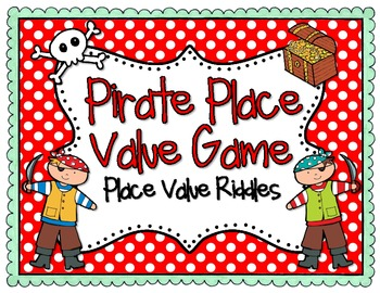 Pirate Place Value Math Game