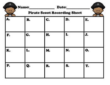 Pirate Place Value Scoot 3-digit Numbers/Task Cards