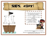 Pirate Place Value and Least to Greatest