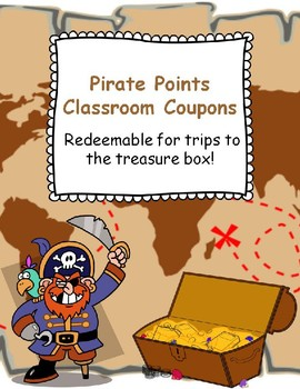 Pirate Points Classroom Coupons