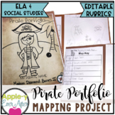 Mapping Unit Skills,  Writing and Project Based Learning (PBL) Me on a Map