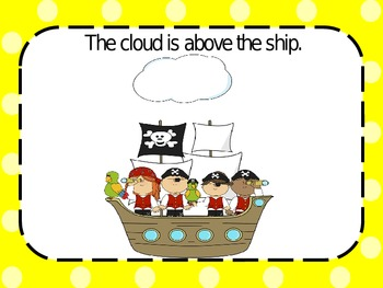 Pirate Positional Words