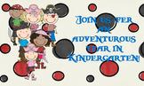Pirate Postcard for Kindergarten