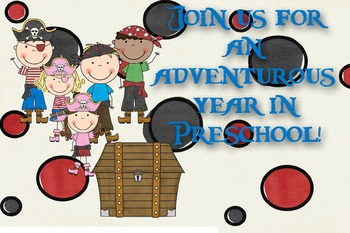 Pirate Postcard for Preschool