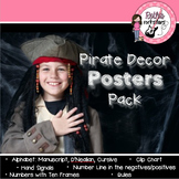 Pirate Posters Decor Pack
