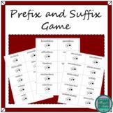 Pirate Prefix and Suffix Game