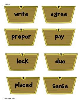 Pirate Prefixes Freebie!