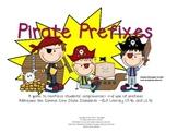 Pirate Prefixes--Practice for Students K through Grade 2