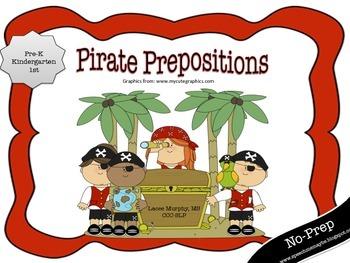 Pirate Prepositions! {{No-Prep}}