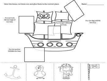 No-Prep Pirate Prepositions!