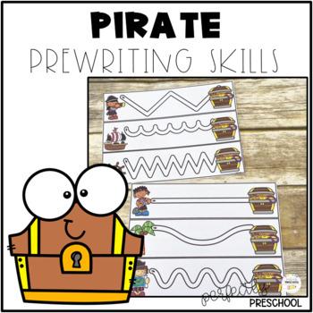 Pirate Prewriting Skills {Dollar Deal}