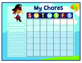 Pirate Printable Chore Chart