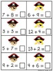 Pirate Problem Solvers {Common Core Math 1.OA.1}