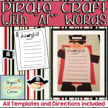 """""""ar"""" words with Pirate Project"""