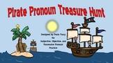 Pirate Pronoun Treasure Hunt