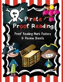 Pirate Proof Reading! Editing Mark Posters & Review