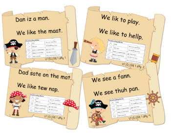 Pirate Proofreading Journeys First Grade Unit 1