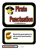 Pirate Punctuation Folder Game