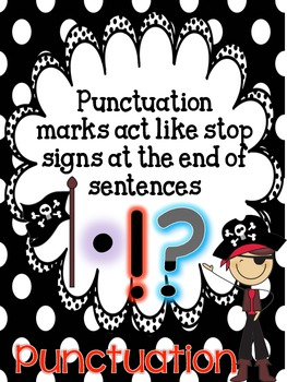 Pirate Punctuation Types of Sentences