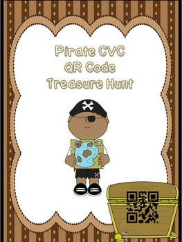 Pirate CVC QR Code Treasure Hunt