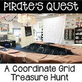 Pirate Quest A Coordinate Grid Treasure Hunt