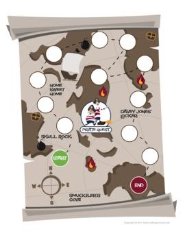 Pirate Quest™ | Music Terms Board Game (Digital Print)