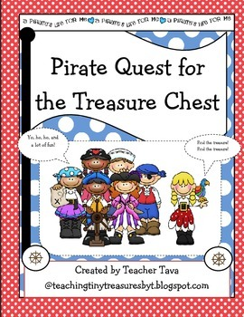 Pirate Quest for the Treasure Chest (Thematic Pack)