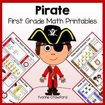 Pirates No Prep Common Core Math (1st grade)