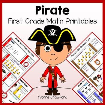 Pirates No Prep Common Core Math (1st grade)