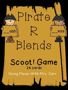 Pirate R Blends--Scoot! Game