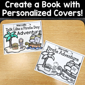 Pirate Reading Passages: PERSONALIZED Comprehension Talk Like a Pirate Day