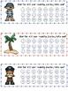 Pirate Reward Chart Bookmark