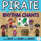 Pirate Rhythm Chants: Music Lessons, Activities and Printa