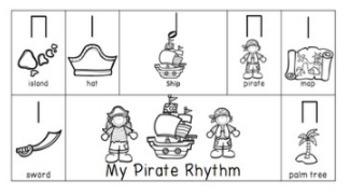 Pirate Rhythm Composition Activity