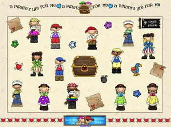 Pirate SMARTBoard Template Game