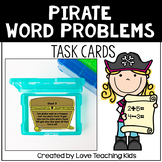 Math Word Problems- Pirate Task Cards