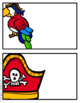 Pirate Schedule Cards (Editable)