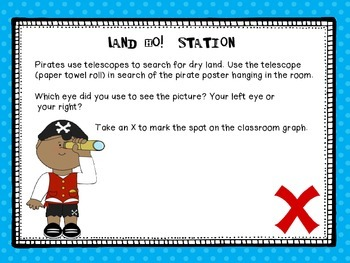 Pirate Science Stations