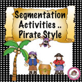 Pirate Segmenting Words Activity Resource