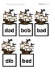 Pirate Sensory Stakes: CVC: B/D Confusion