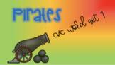 Pirate Sensory Stakes: CVC Words Set 1