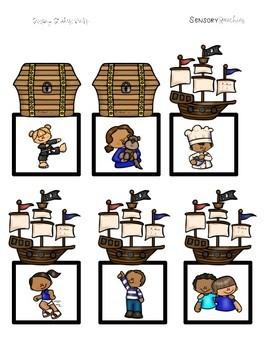 Pirate Sensory Stakes: Verbs
