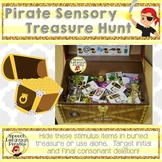 Pirate Sensory Treasure Hunt