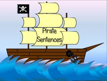 Pirate Sentences