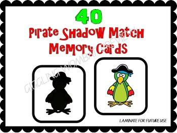 Pirate Shadow Match Mats